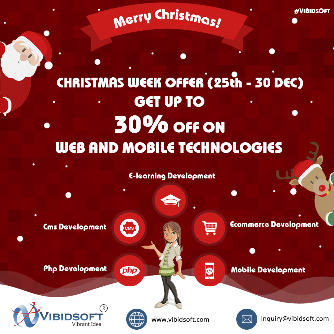 Marry Chrismas Offer